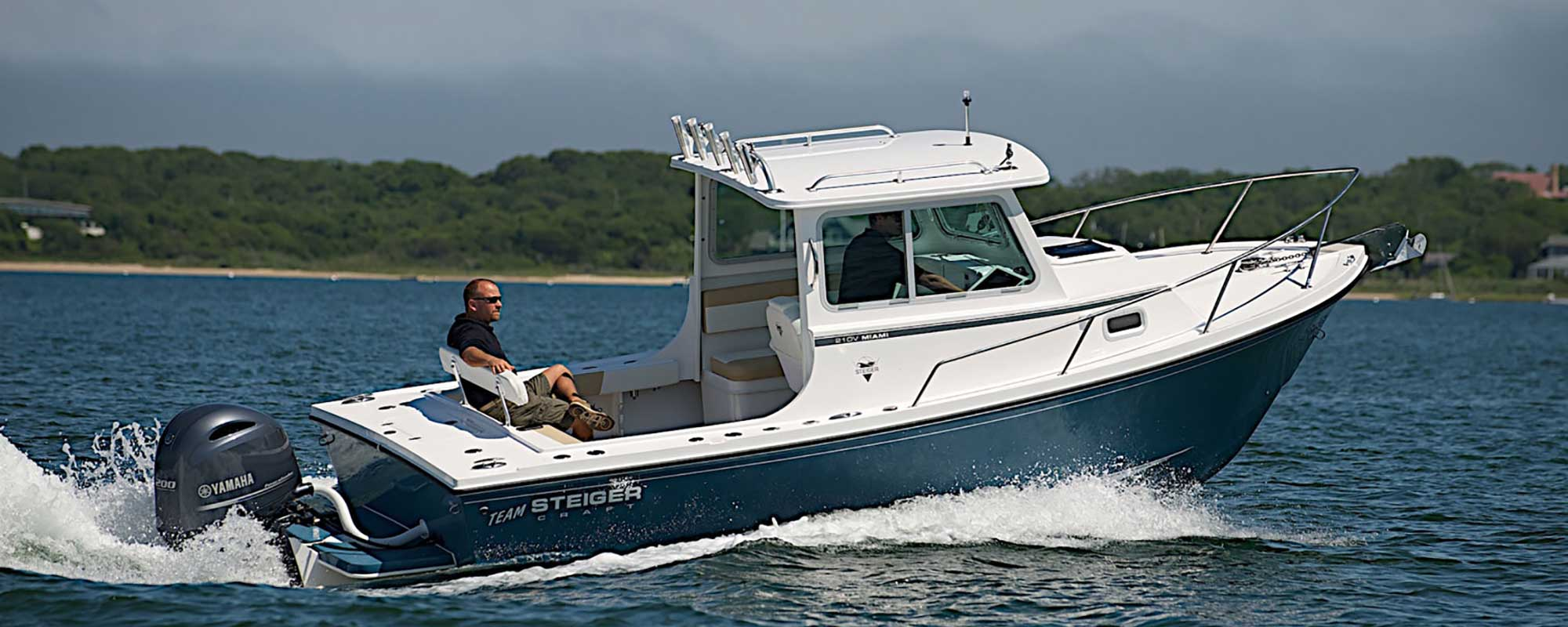 Steiger Craft 21 DV Miami cruising